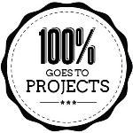 100% of your donations goes to projects