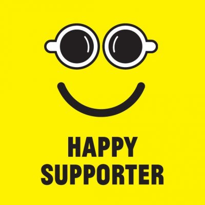happy supporter
